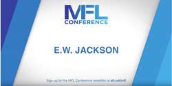 E W Jackson Marriage, Family, Life Conference 2019